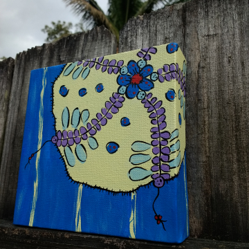 Sea Anemone on canvas