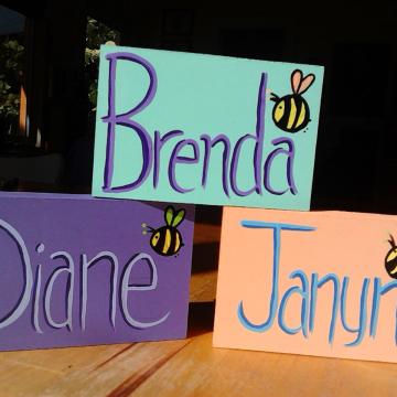 Custom names on art blocks