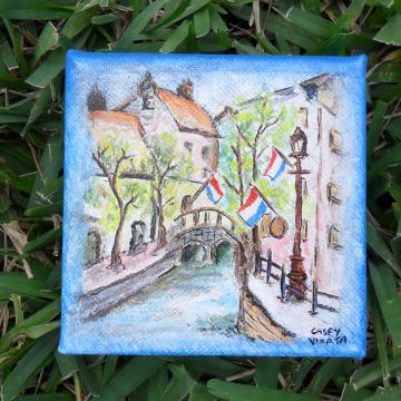 Paris mini canvas