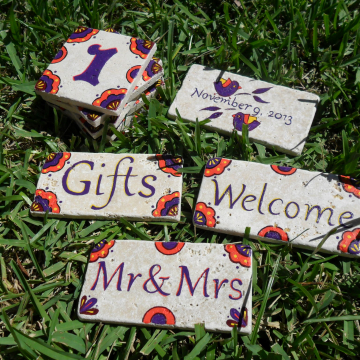 Wedding tiles