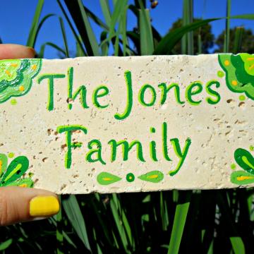 family name tile