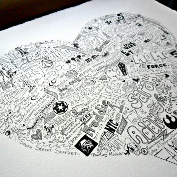 Family Memory Illustration
